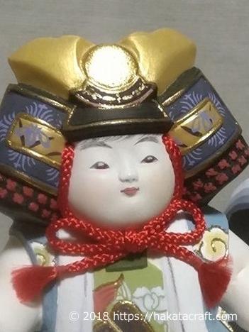 博多人形師 緒方恵子の作品「風薫る」