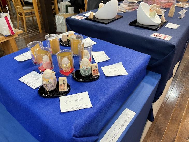 工芸との出会い展で梶原正二制作の博多人形が展示販売されています