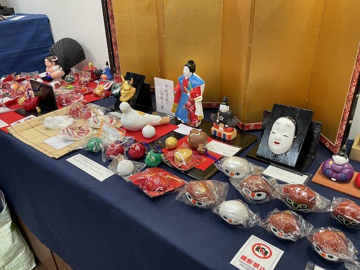 工芸との出会い展で垣内ひさ子制作の垣内敬一人形が展示販売されています